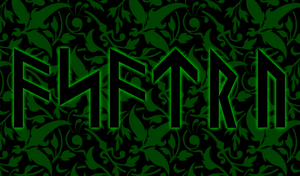 Damask Asatru Background by Lokabrenna-89