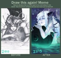 Draw this again meme by MissPinks