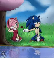 Sonamy:.*do not cry, you're not alone* by roselaeriza