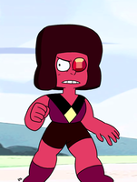 Steven Universe - Ruby (Eyeball) by theEyZmaster