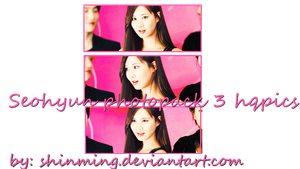 Seohyun Photopack by ShinMing