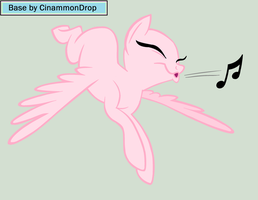 Pony Flutterfly Whistling Base by CinammonDrop