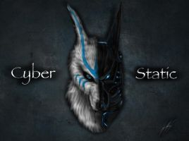 cyber static by joshsmithstudio