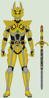 (Attempt at) Garo, the Golden Knight by Omega-King-DX