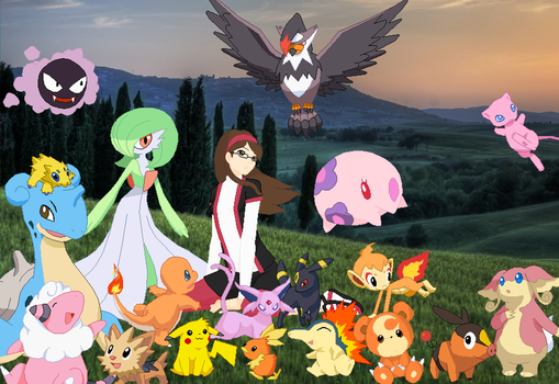 Pokemon World by SelenaEde