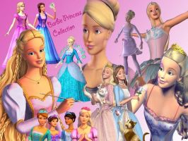 The Collection of Barbie Princesses by winxgirl6446