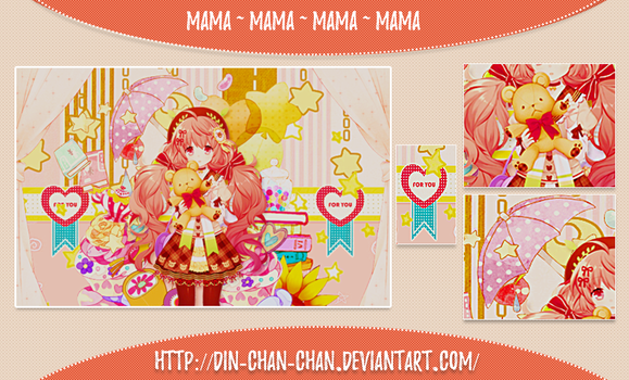 Tag Wall ''Mama'' by Din-chan-chan