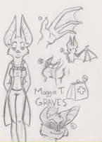 Maggie T. Graves by MergebyLie