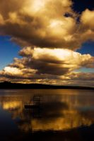 Golden Clouds by Swen88