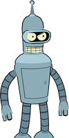 Bender (Futurama) Model by CRASHARKI