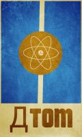 aTOM Poster by ce-faa-sabin