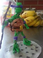 Twist tie Donatello by justjake54