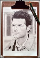 Castiel, The Angel of the Lord by Gigi-Avila