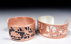 Forest Cuffs by Maresy