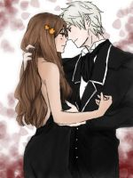 APH: Prussia x Hungary by haru890