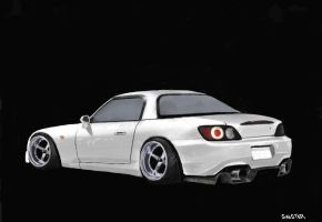 Honda S2000 by W831SinisteR