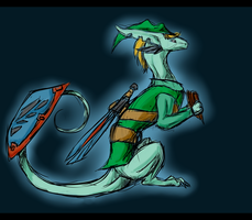 He plays the panpipes by Symrea