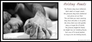 Holding Hands Visual Poem by meljoy68