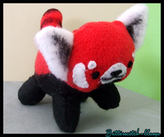 Red Panda Plush by Butterscotch-Llama