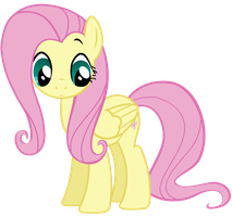 Shy Fluttershy by TomFraggle