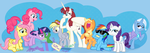 Equestria Daily 100 Million Hits Banner by PixelKitties