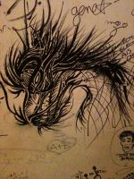 Freestyle dragon by toge-NYC