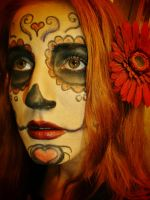 Day Of the Dead Makeup by InkyDreamz