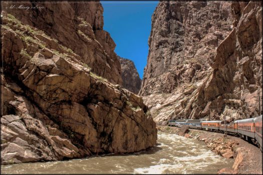 Riding Royal Gorge by lil-Mickey