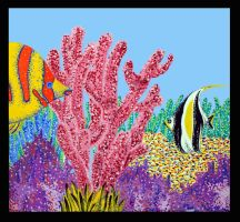 The Coral Reef by kn33cow