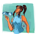 Korra and some updates by mewe321
