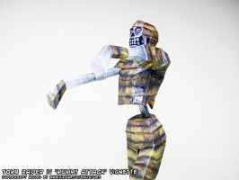 Tomb Raider 4 papercraft mummy by ninjatoespapercraft