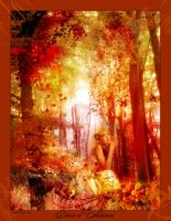 Autumn Goddess by sihaya