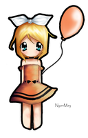 Vocaloid Rin Chibi by NyanMay