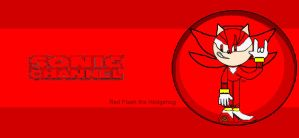 Red Flash in Sonic Channel by firenamedBob