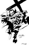 WSC Gene Colan's Dracula Pencils Inked by pictsy