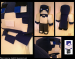 [Commission] Custom Minecraft Plush (3) by Belle43