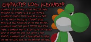 Character Log: Alexander by Cordometer