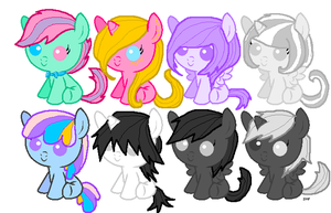 Cheap Fillies and colts adoptables ! OPEN ! by Xingyaru