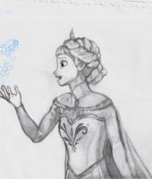 Frozen Elsa by taegurk123