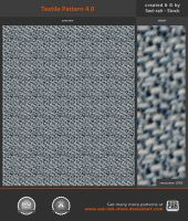 Textile Pattern 4.0 by Sed-rah-Stock