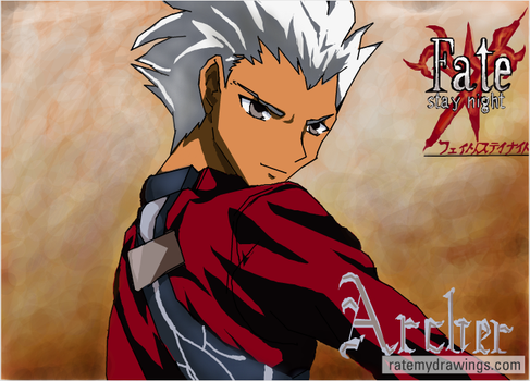 archer fate stay night by kanogt