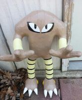 Hitmonlee by DuctileCreations