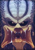 Predator Face by Juggertha