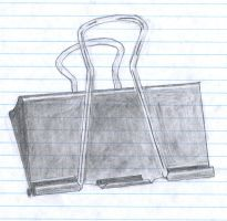 Binder Clip by adamsk8