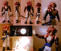 DragonballGT Gogeta SS4 custom by pgv