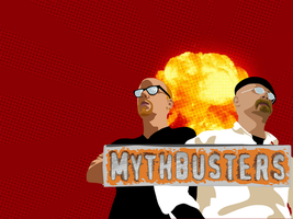 Mythbusters wallpaper by yarrbunny