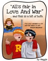 Love And War color by MargaHG