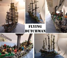 Flying Dutchman by Teridax467