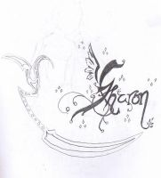 My calligraphy has improved by jashinist112