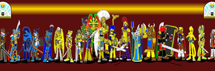 Heroes of the Temple of the Ancients by DragonSnake9989